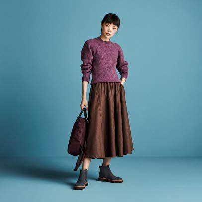 Trace Fall Zwart combi textiel