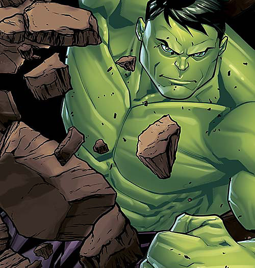 Cartoon image of Hulk, select this box to see a larger image