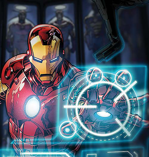 Cartoon image of Iron Man, select this box to see a larger image