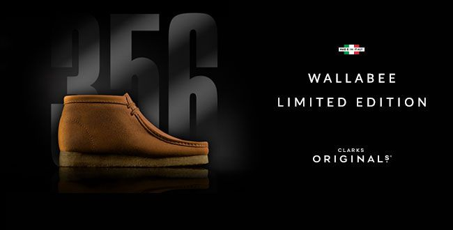 Wallabee - Een Limited Edition