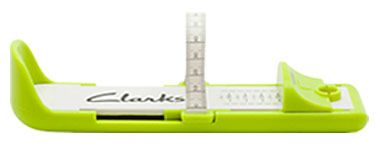 Clarks Measure At Home Size Calculator Foot Gauge