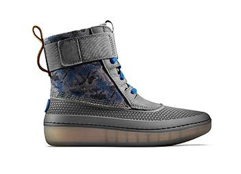 Image of Teal Camo Girls Star Wars Boot