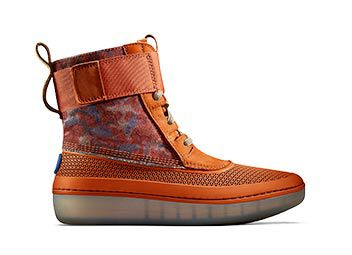 Image of Orange Camo Girls Star Wars Boot