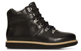 Glick Asha GTX, schwarze wasserdichte Stiefel für Damen mit GORE-TEX® Technologie