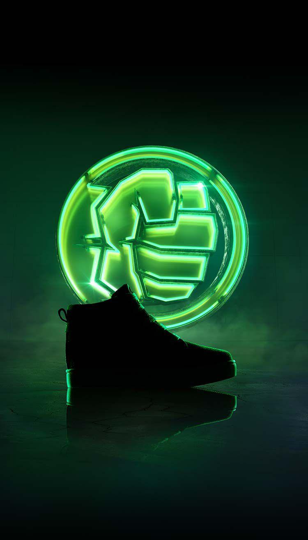 Chaussures Hulk