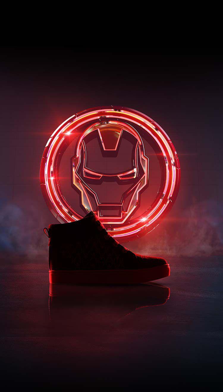 Chaussures Iron Man