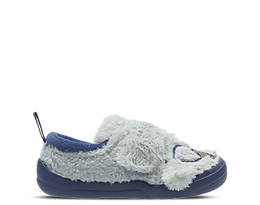 Shilo Chico, kids slippers, grey textile