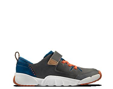 Tri Dash Junior, Grey Combi Leather