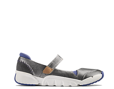 Tri Pace Infant, Kids Shoes, silver leather