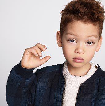 Photo d'un jeune enfant