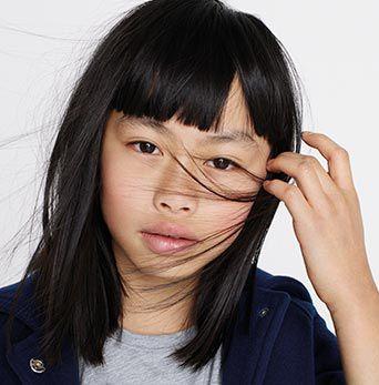 Photo d'une petite fille