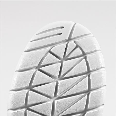 Plan rapproché d'une semelle flexible de basket