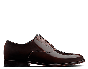 Ellis Vincent, men's shoes, chestnut leather