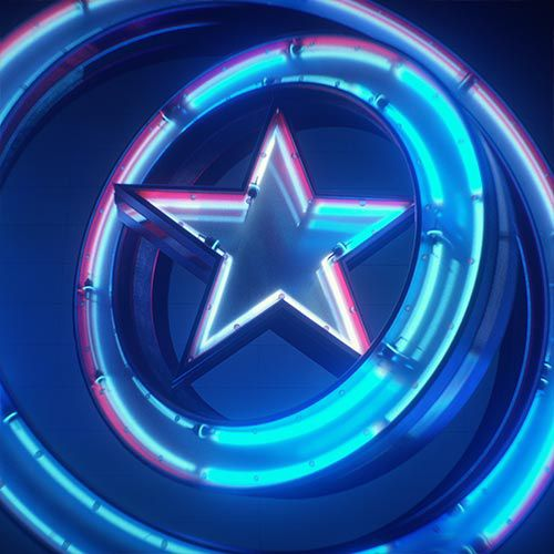 Captain America badge video