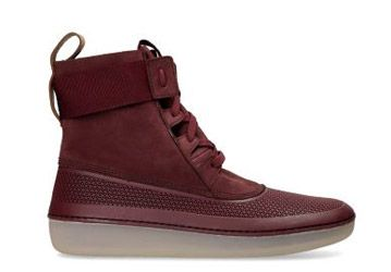 Nature V - Burgundy Nubuck