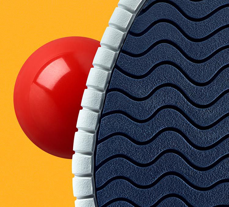 Close up shot of the sole of a MZT Summer for womens