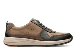 Un Coast Form, baskets pour Homme en nubuck marron