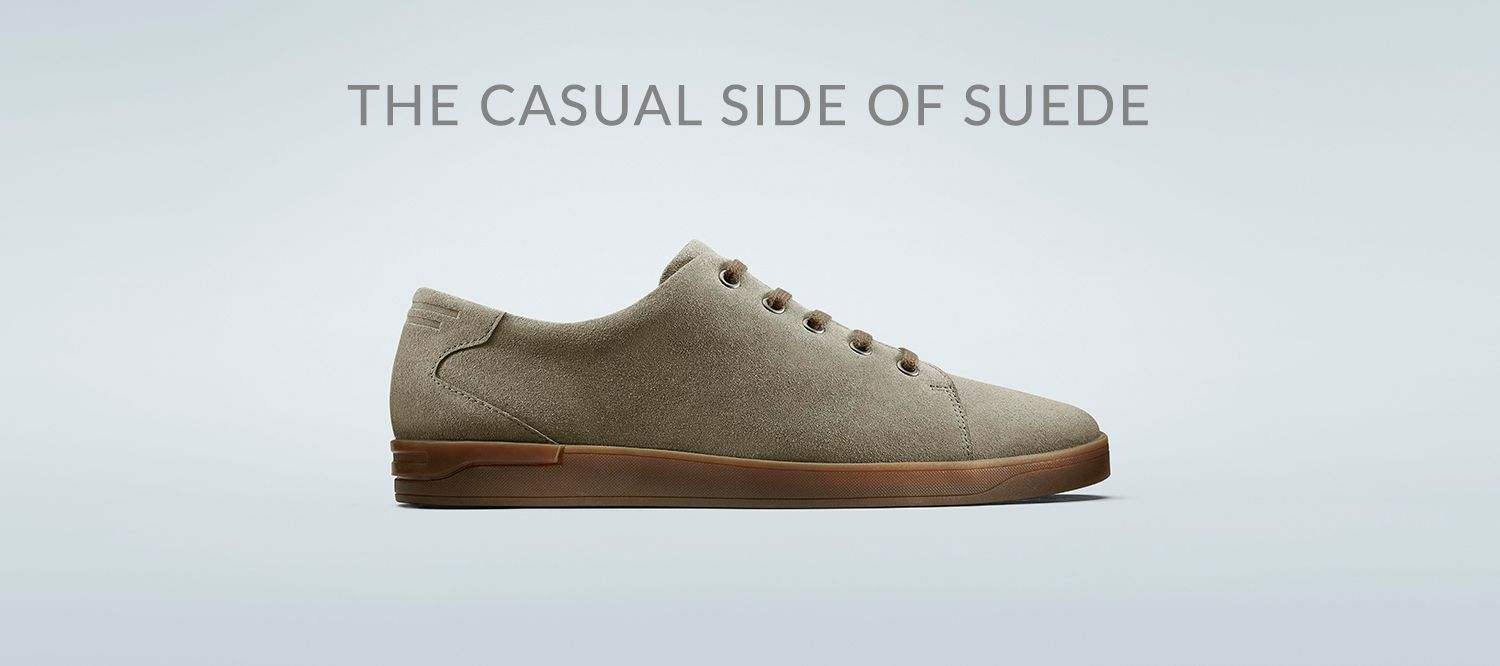 The Casual Side of Suede