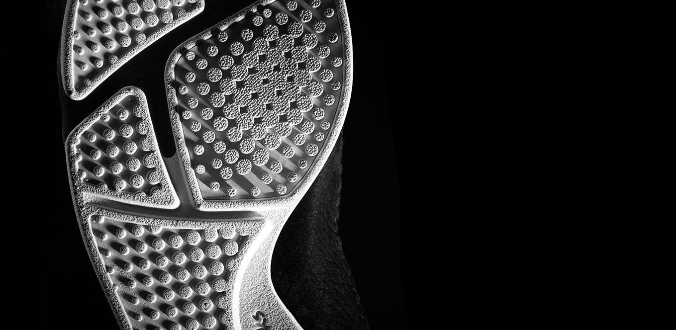 Detail of a Trigenic Flex sole