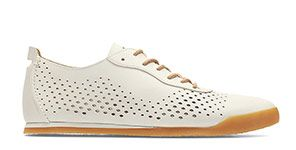 Siddal Run - white leather