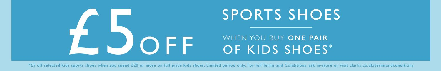 £5 OFF Sports Shoes
