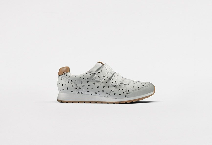 Zest Max - White Combi Leather | Clarks