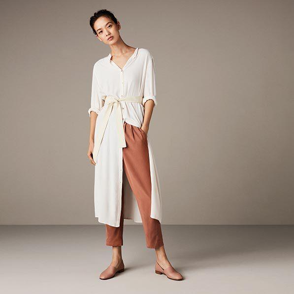 PureTone, nudefarbene Leder-Slip-Ons für Damen