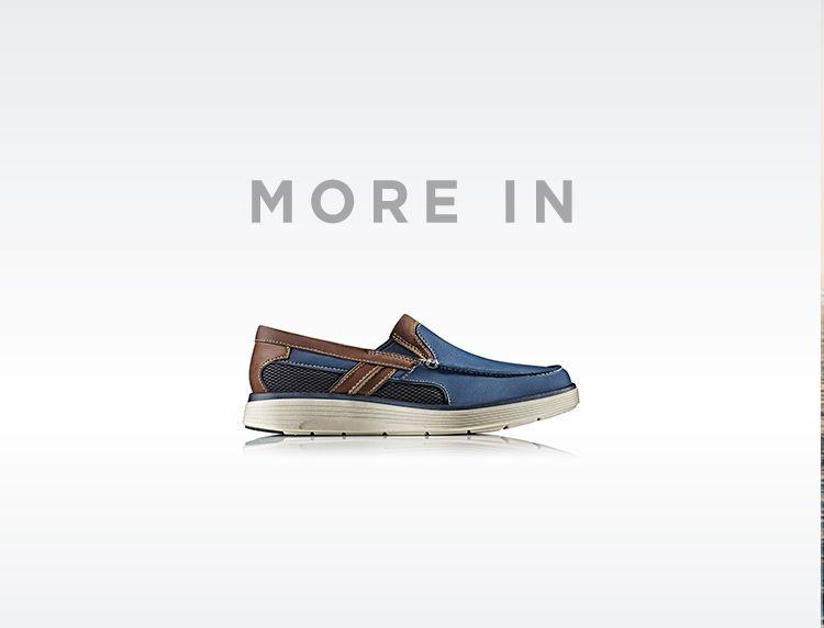 Chaussures Clarks Softly bleues Fashion garçon