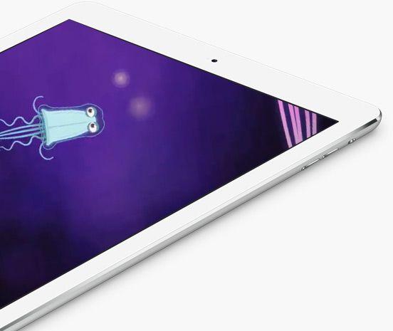 Mokomo gameplay shown on an iPad