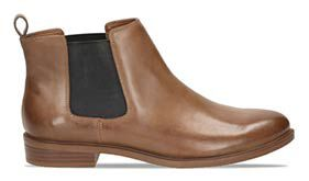Taylor shine, tan leather women's ankle boots