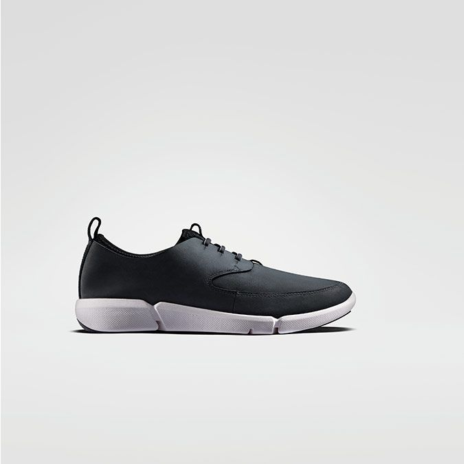 Triflow Form, men's trainers in black nubuck