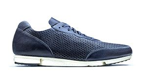 Triturn Run - Blue Leather