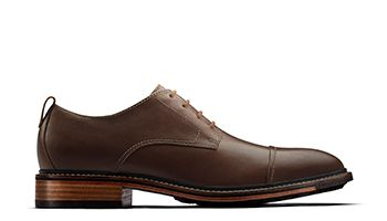 Costigan Cap Mens Dress Shoe in Dark Tan
