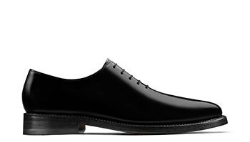 Rhodes Oxford Mens Dress Shoe in Black