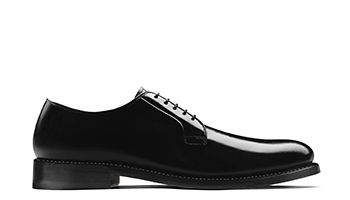 Rhodes Plain Mens Dress Shoe in Black