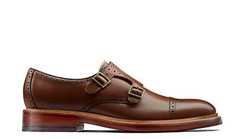 Somerville Mix Mens Dress Shoe in Cognac