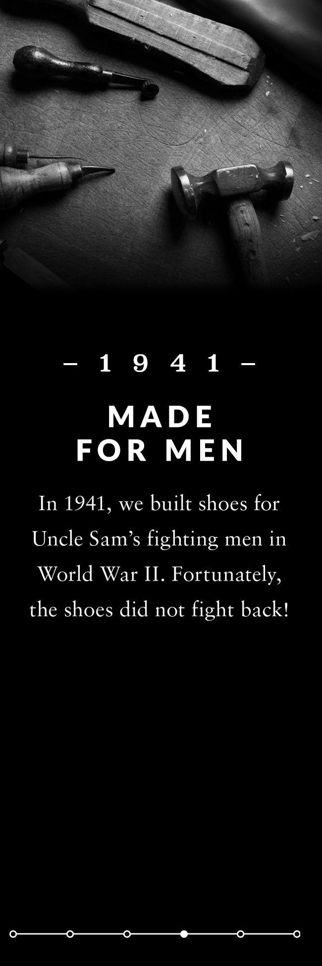Made for men