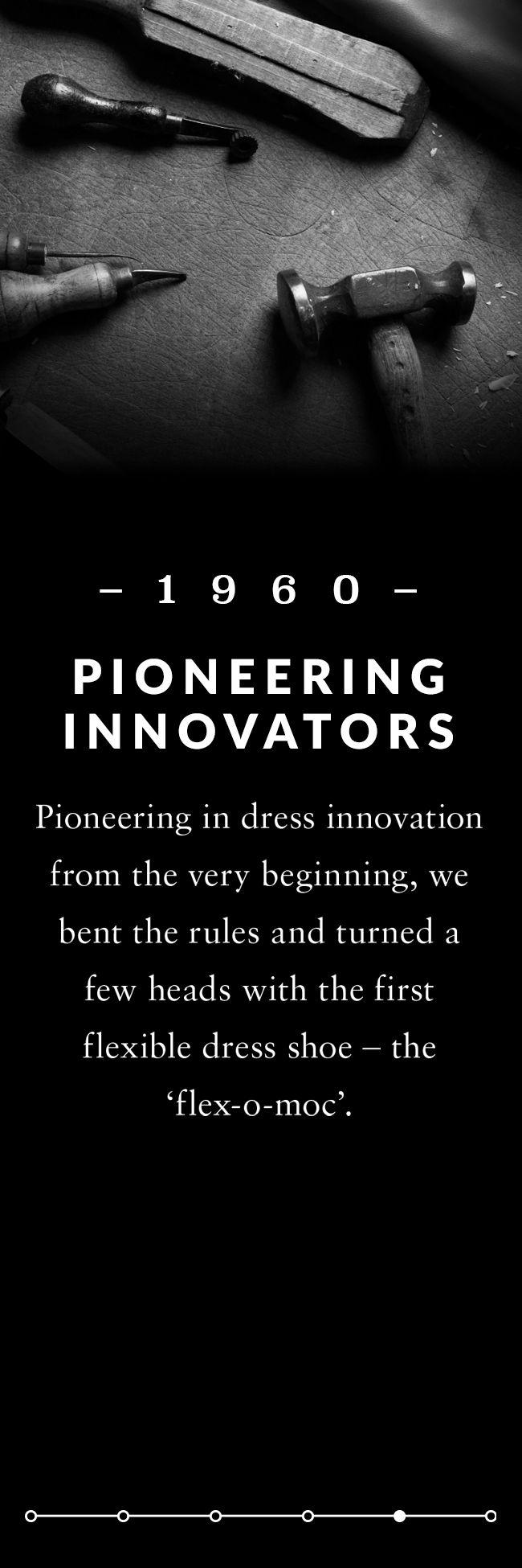 Pioneering innovators