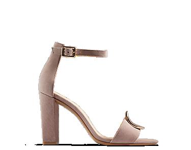 Curtain Deco, women's sandals, vintage pink