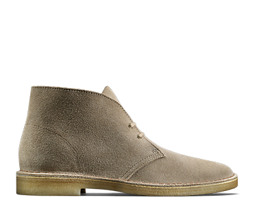 Womens Desert Boot in sand suede