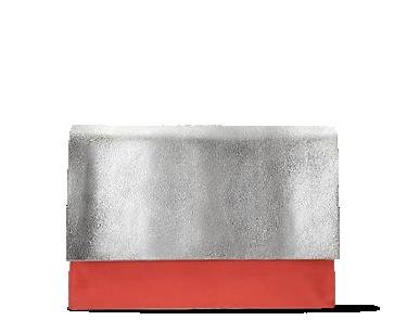 Moroccan Jewel, women's bags, silver metallic leather