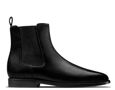 Ellis Franklin, men's boots, black leather