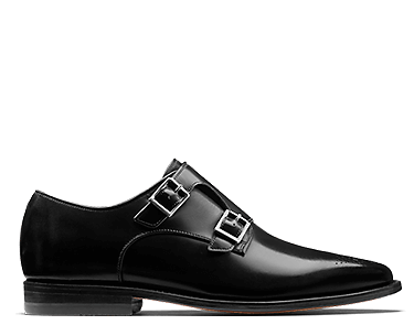 Ellis Gilbert, men's shoes, black leather