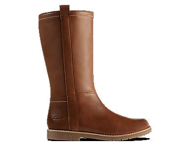 Grace Tildy, kids boots, light tan leather