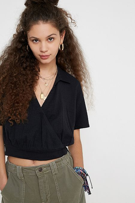 11cd140cf34 Women's Crop Tops | Cropped T-Shirts | Urban Outfitters UK