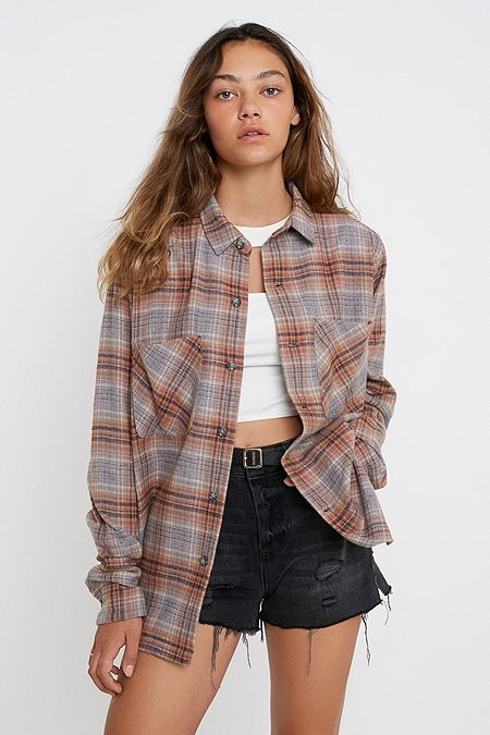 a275ec77f Women's Shirts & Blouses   Button-Down & Flannel Shirts   Urban ...