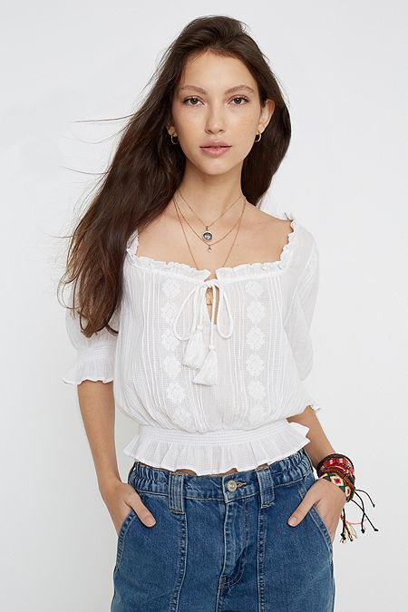 469eedf420 Women's Sale Tops | Blouses & T-Shirt Sale | Urban Outfitters UK
