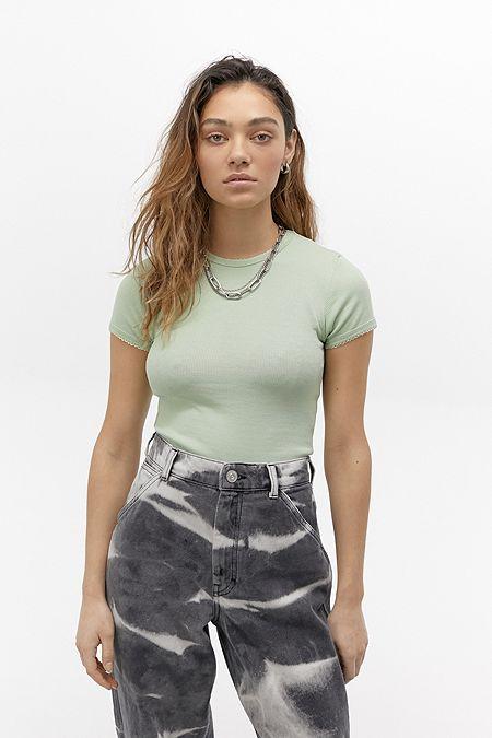 T shirts basiques & Hauts pour Femme | Hauts courts