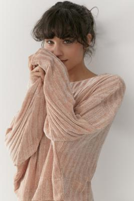 Out From Under Whistler Chenille Wide Neck Jumper by Out From Under