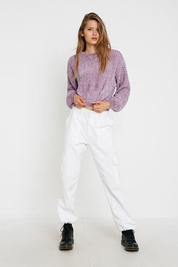 Slide View: 3: UO Plush Crew Neck Jumper